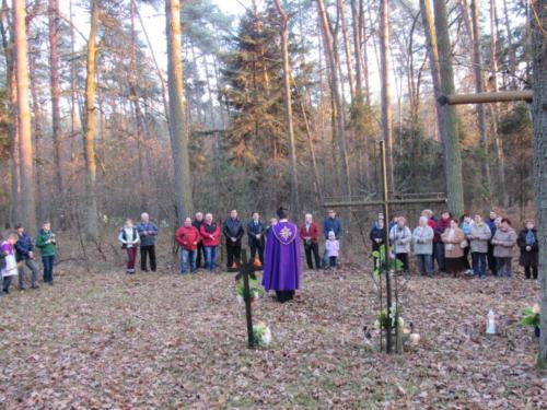 Modlitwa na cmentarzu cholerycznym