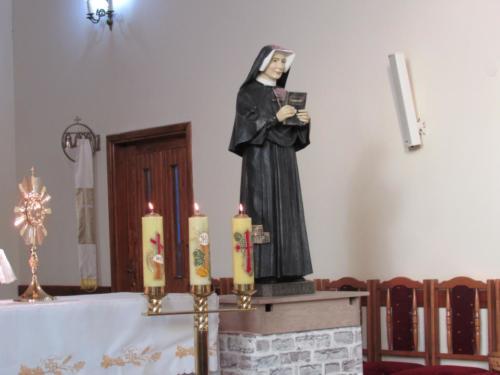 Pielgrzymce po figurę św. Faustyny do Sanktuarium w Łagiewnikach